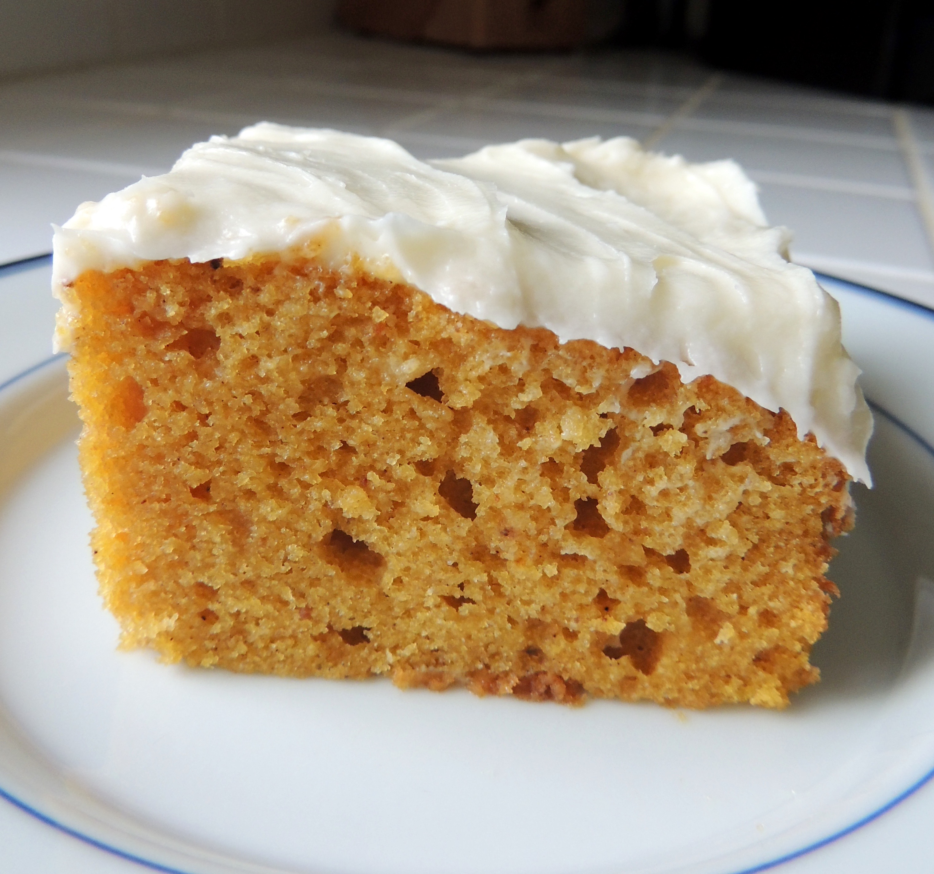 Pumpkin Spice Bars with Cream Cheese Frosting | Living Healthy in Seattle