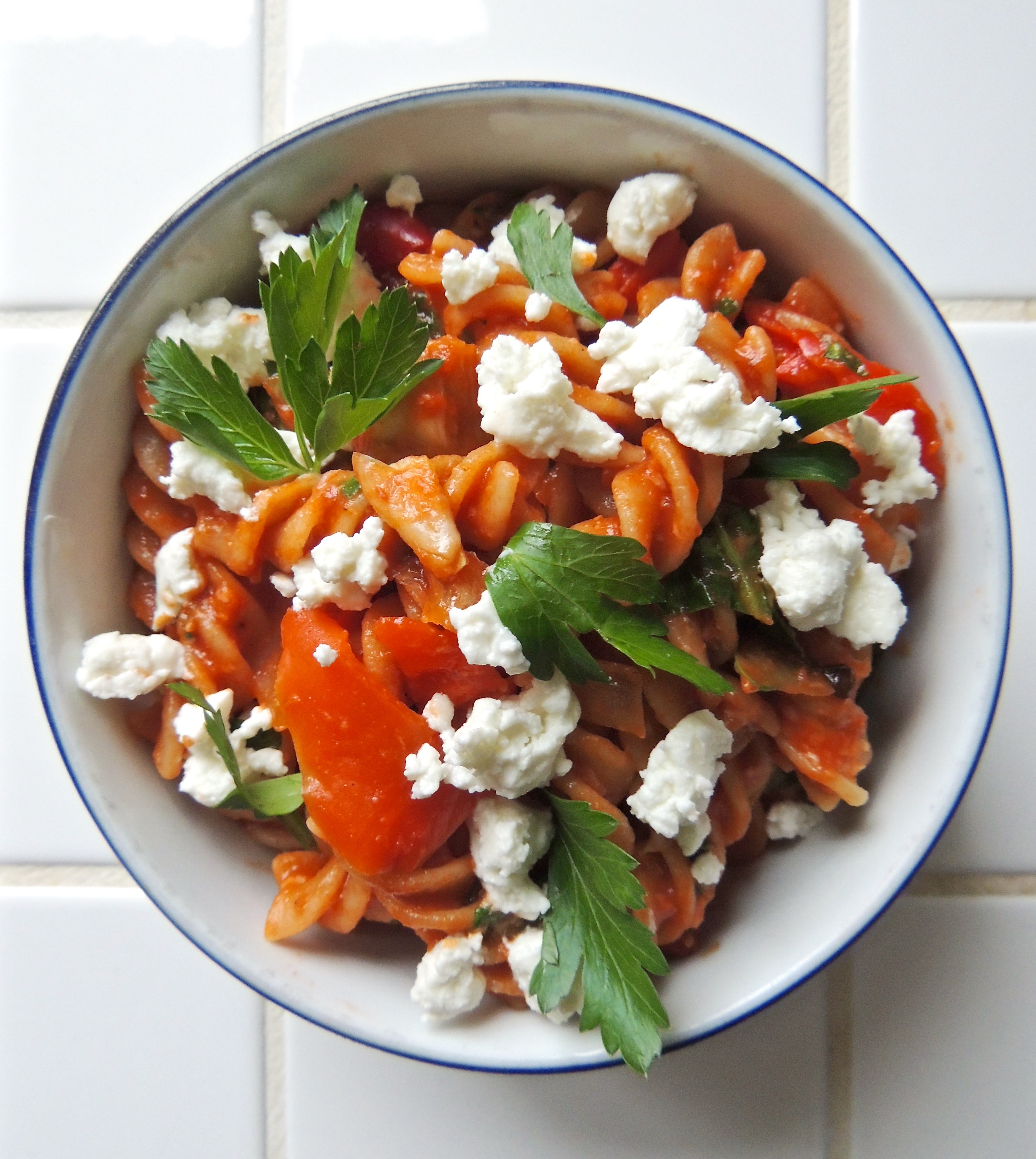 Pasta with a Kick | Living Healthy in Seattle
