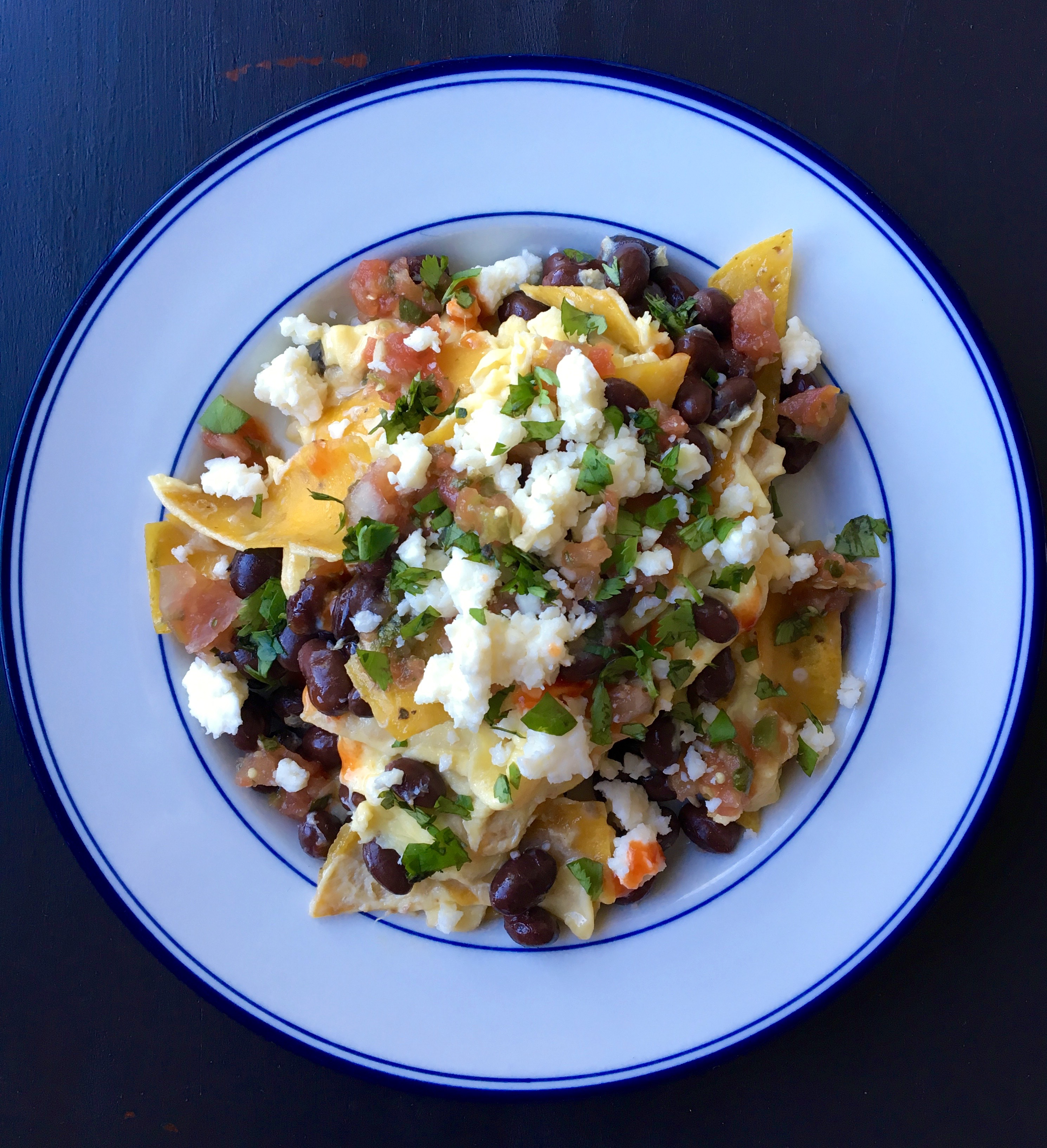 Living Healthy In Seattle: Migas With Black Beans & Cotija