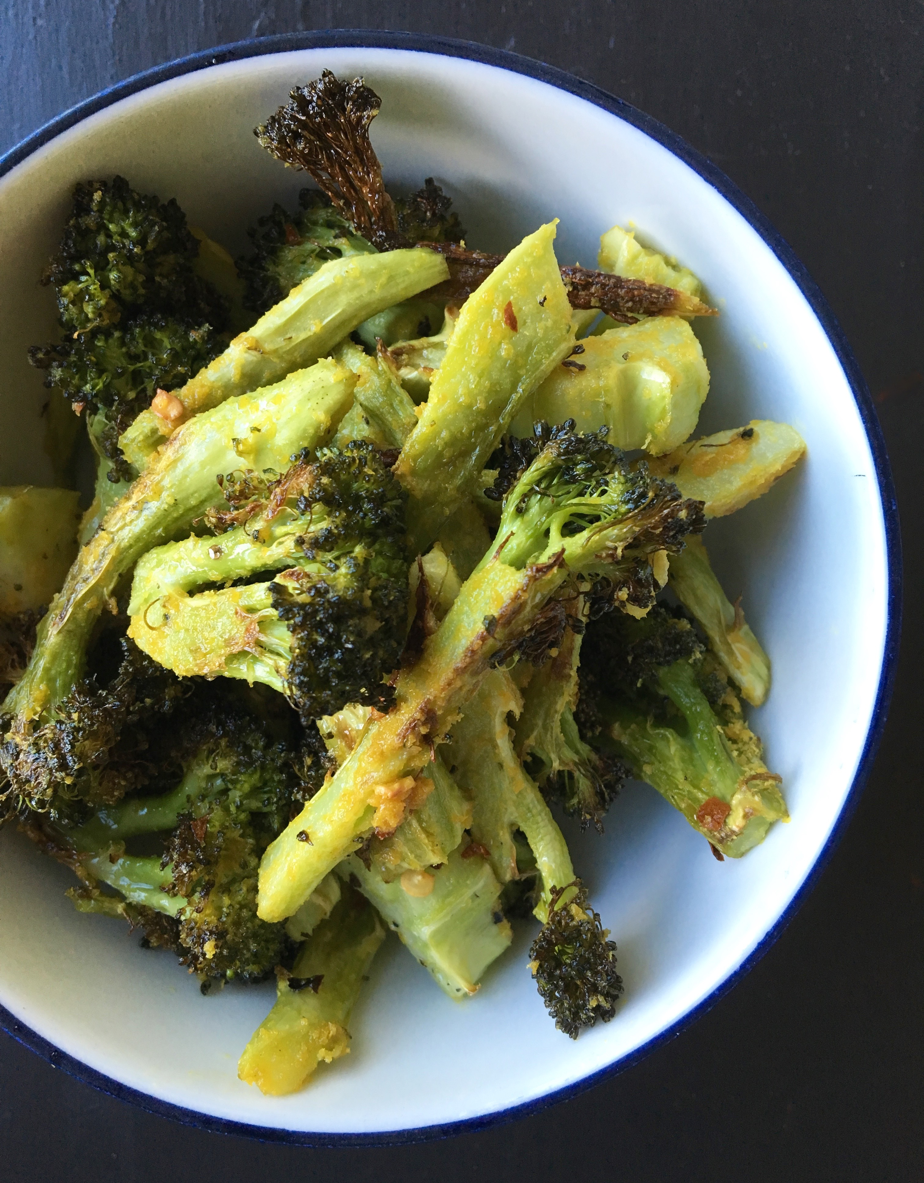Crispy Roasted Broccoli | Living Healthy in Seattle