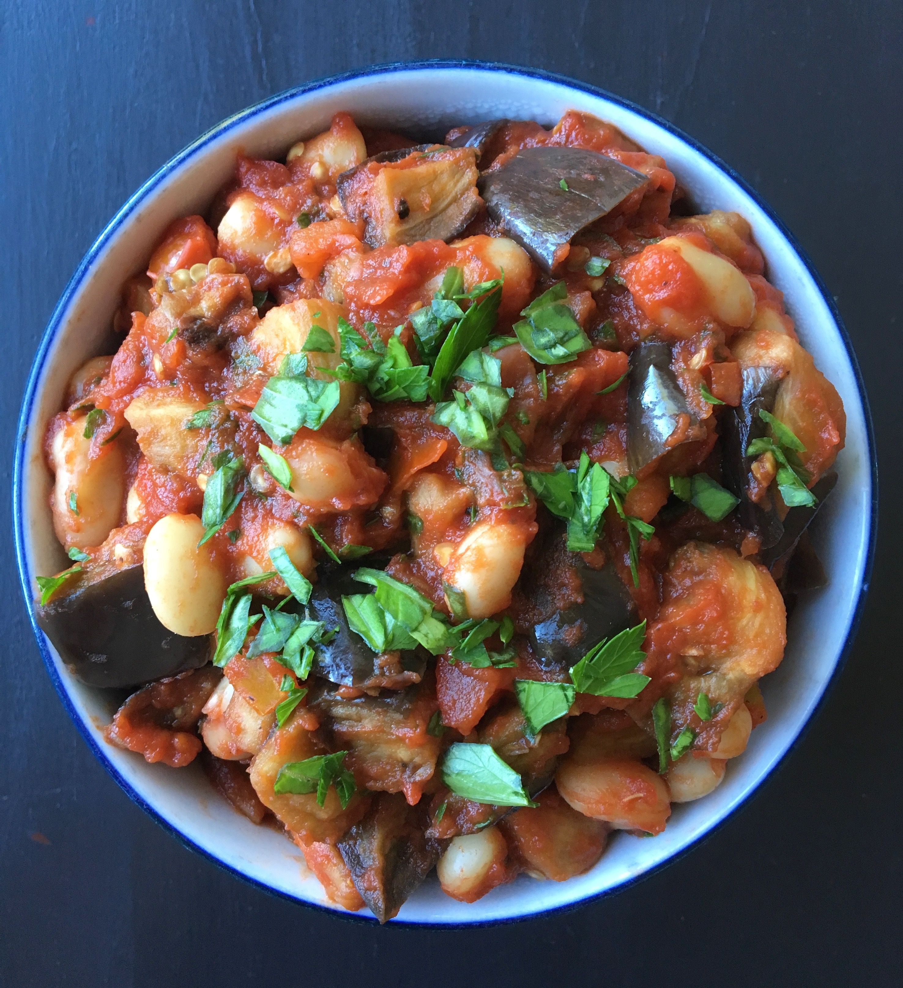 Roasted Eggplant with Simple Tomato Sauce | Living Healthy in Seattle