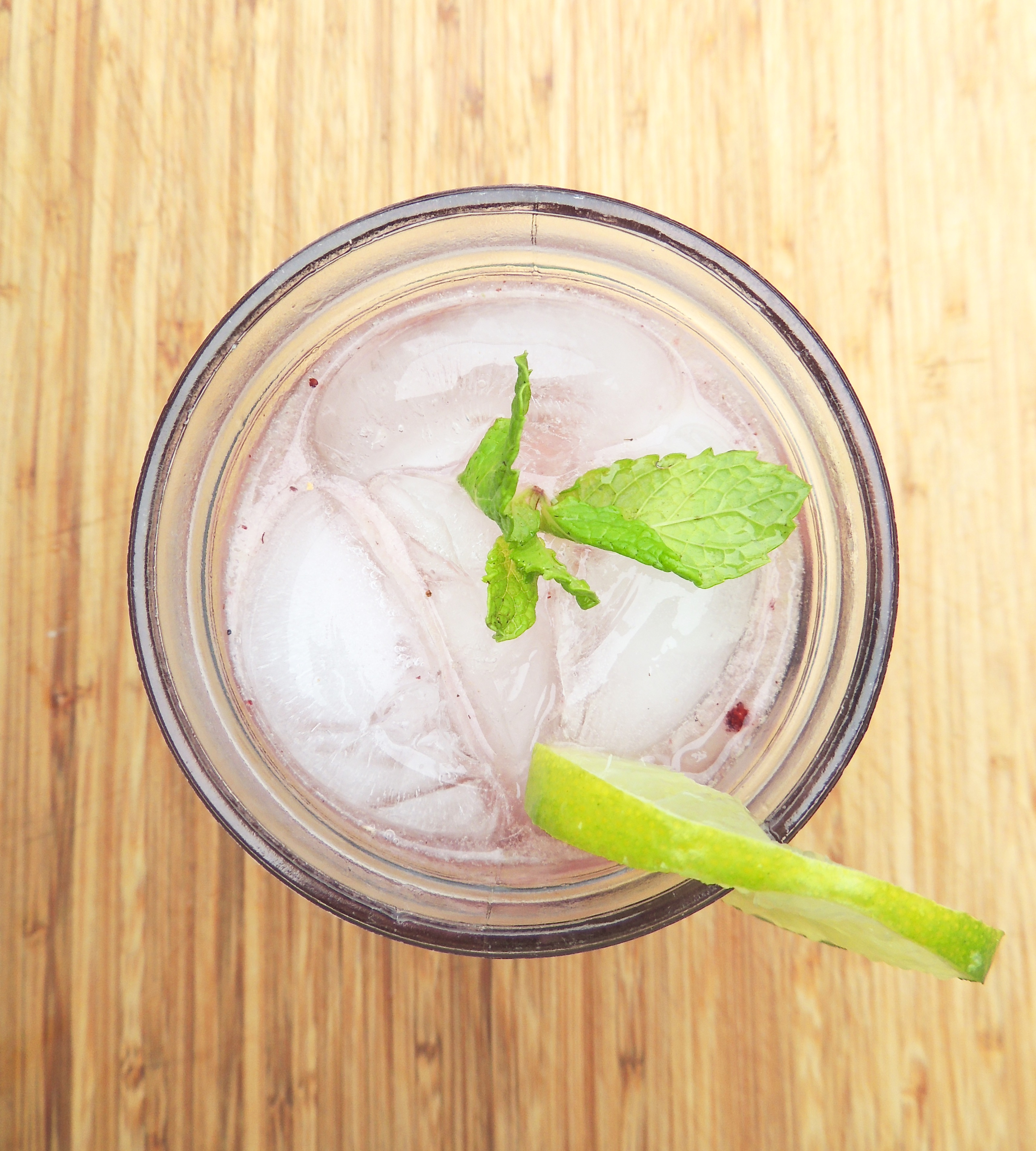 Blackberry Mint Moscow Mule | Living Healthy in Seattle