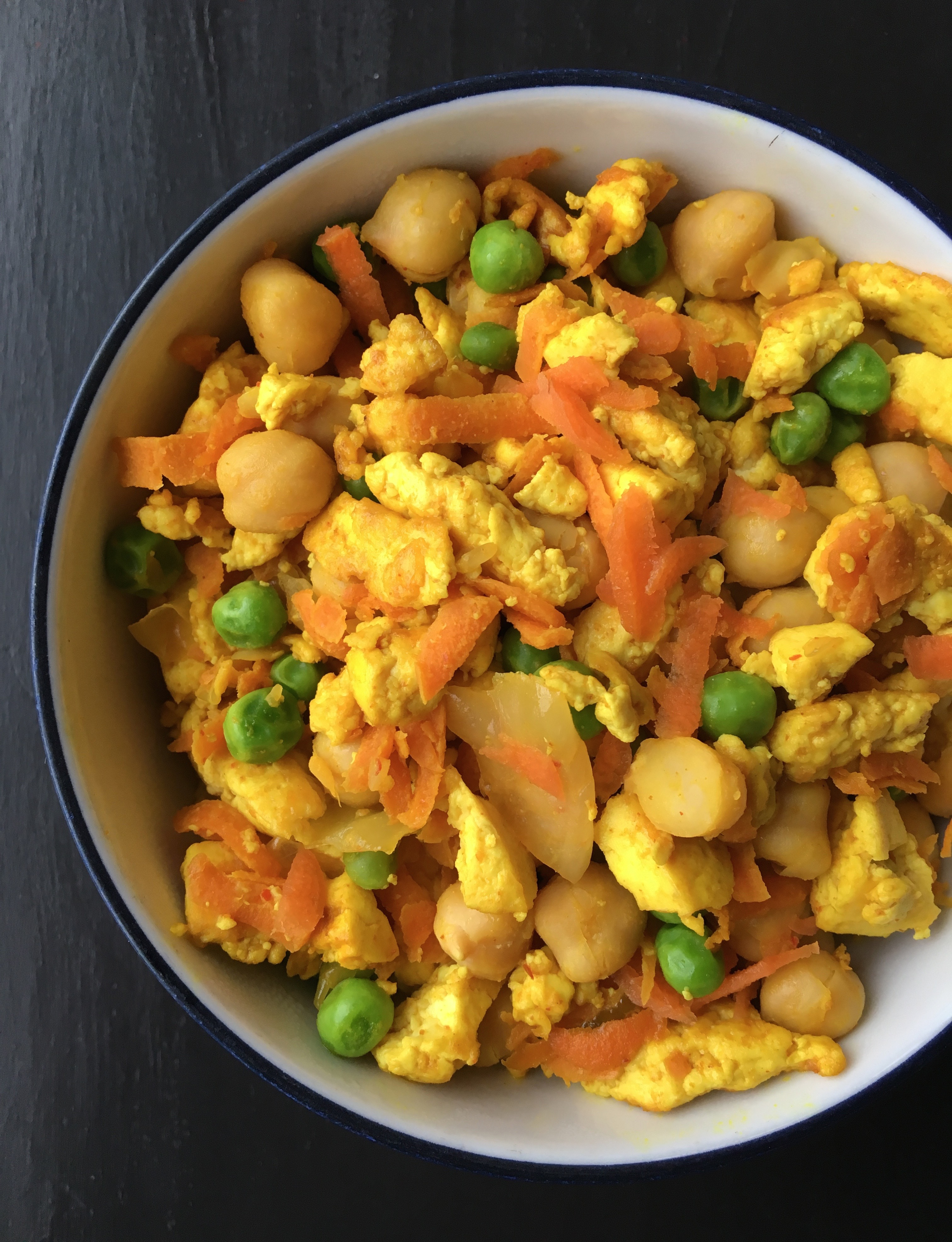 Tofu Veggie Scramble | Living Healthy in Seattle